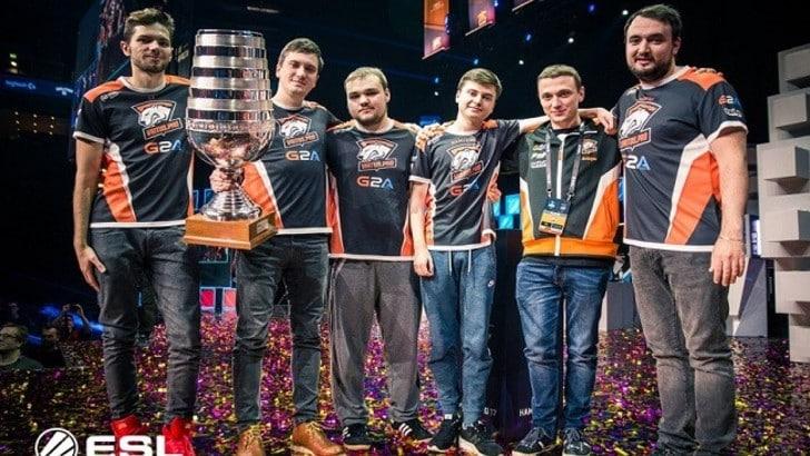 Impresa Virtus.Pro: sono i campioni dell'ESL One Katowice!