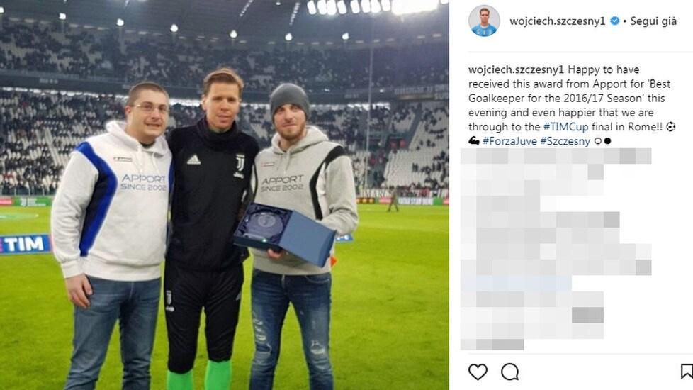 I giocatori bianconeri (e non solo) gioiscono sul web per aver conquistato la finale di Coppa Italia