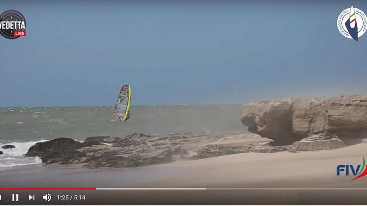 I campionati nazionali windsurf wave, freestyle e del gran slam come mai si sono visti prima