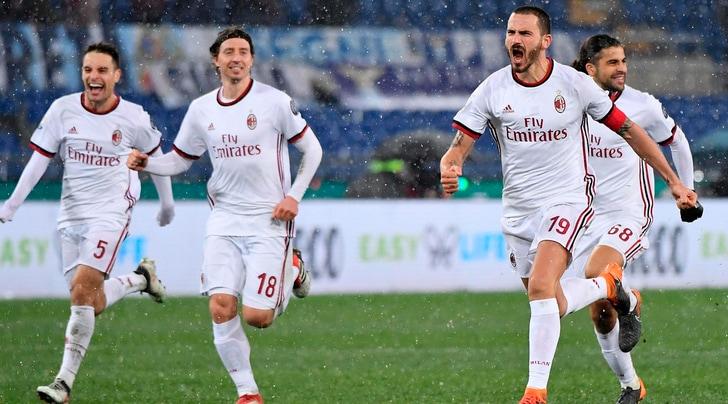 Coppa Italia, la finale sarà Juventus-Milan: Lazio sconfitta ai rigori