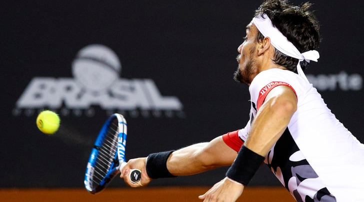 Tennis, Atp San Paolo: Fognini in semifinale