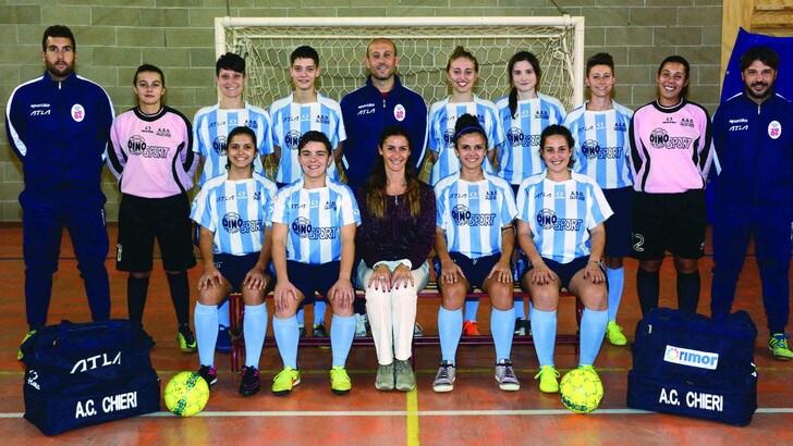 Calcio in rosa, Chieri ospita la Rappresentativa Femminile