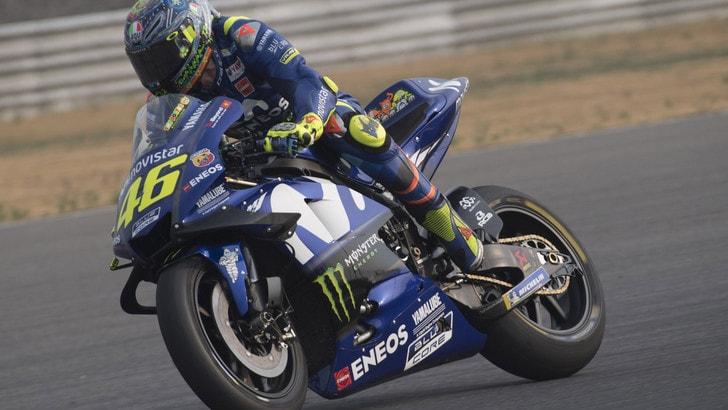 MotoGp Yamaha, Rossi: «Honda, Ducati e Suzuki sono davanti»