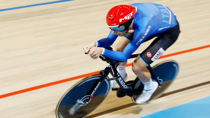 Ciclismo, Mondiali pista: Ganna è oro nell'inseguimento