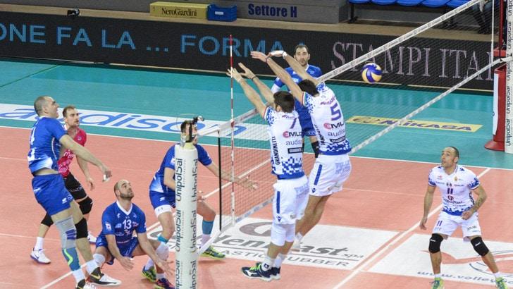 Volley: A2 Maschile, Pool B, Mondovì si prende i tre punti con Potenza Picena