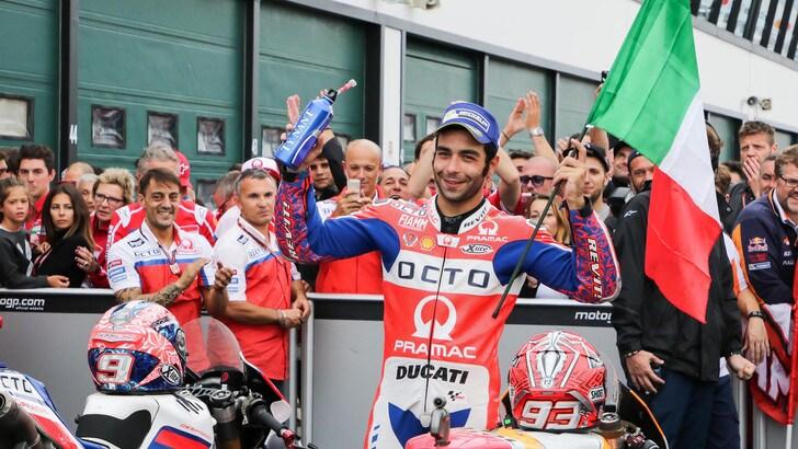 MotoGp Ducati, Petrucci: «Abbiamo fatto grandi progressi»