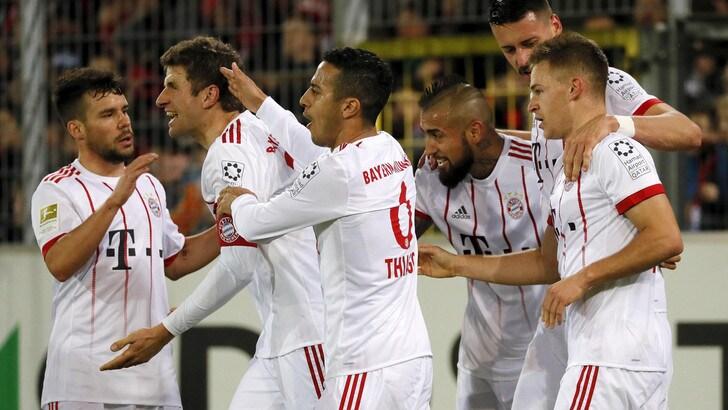 Bundesliga, Bayern Monaco scatenato: poker al Friburgo