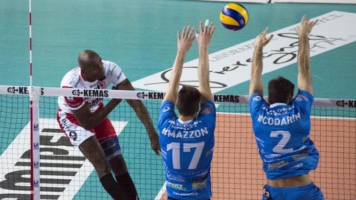 Volley: A2 Maschile, Pool A, cade Santa Croce, Bergamo lascia un punto a Grottazzolina