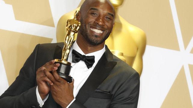 Oscar per Kobe Bryant che fa una dichiarazione d'amore in italiano
