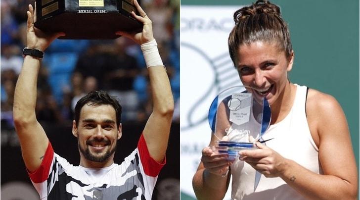 Tennis: Fognini e Giorgi migliori azzurri, Errani torna in top 100
