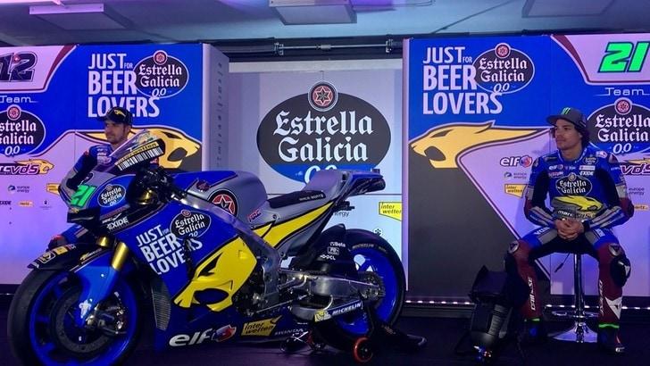 MotoGp, il Team Estrella Galicia Marc VDS si è presentato