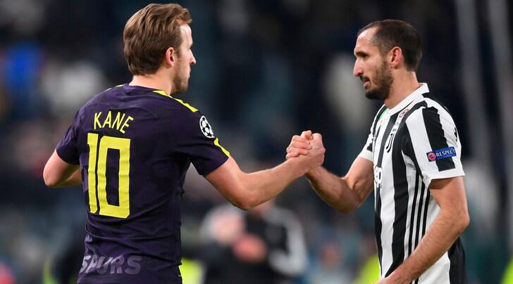 Tottenham, Kane: «La Juventus è ancora una delle migliori d'Europa»