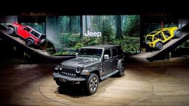 Jeep, doppietta a Ginevra con Wrangler e Cherokee