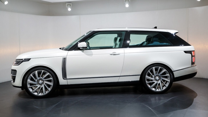 Range Rover SV Coupé, il super Suv due porte