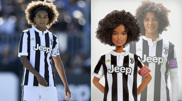 Nasce una Barbie della Juventus ispirata a Sara Gama