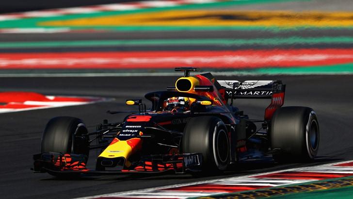 F1, test Barcellona: Ricciardo padrone nel Day 2