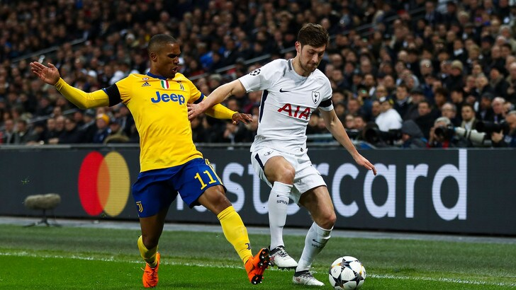 Champions League, Tottenham-Juventus: rigore negato a Douglas Costa