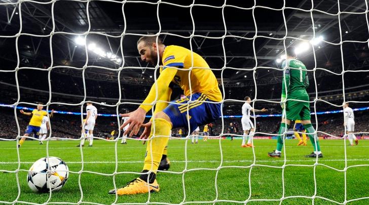 Juventus, Higuain: «Wembley è nostra»