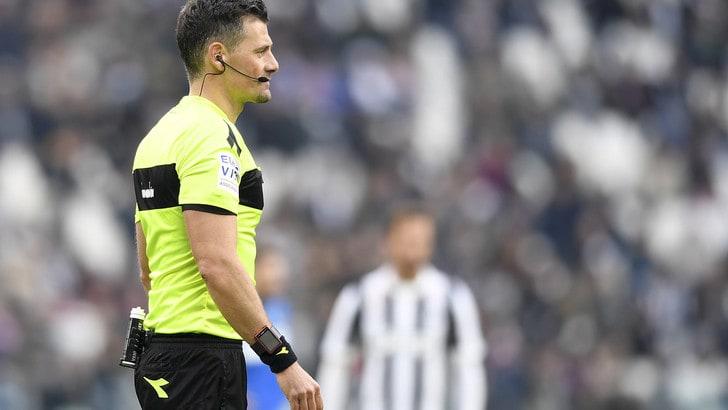 Serie A, in Juve-Udinese arbitra Giacomelli. Maresca per Roma-Torino