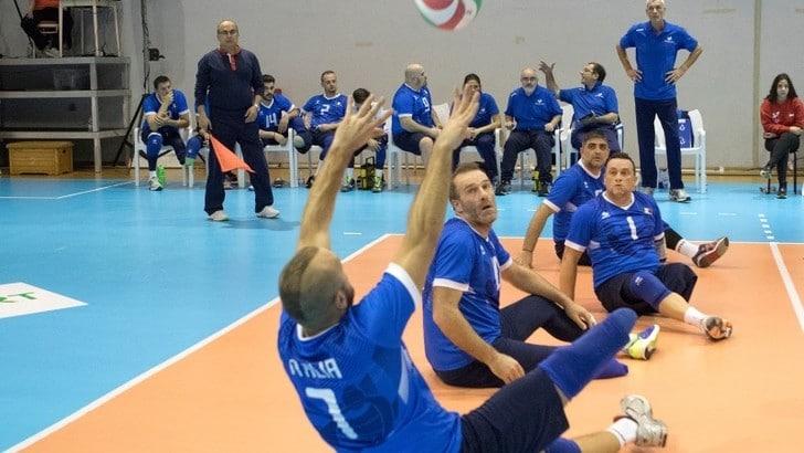 Sitting Volley: Fracascia ha convocato 12 atleti per lo stage di Formia