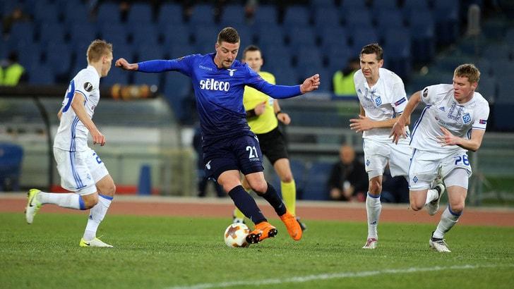 Europa League Lazio-Dinamo Kiev 2-2, il tabellino