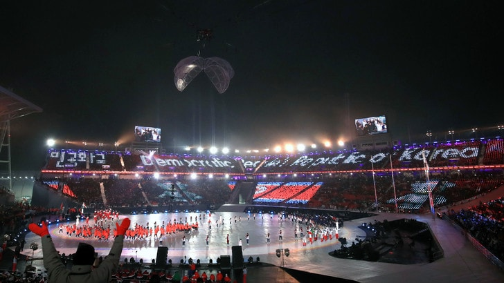 Cerimonia d'apertura: al via le Paralimpiadi 2018