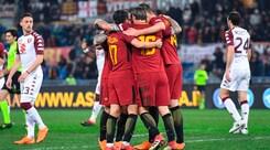 Serie A, Roma-Torino 3-0: i granata durano solo un tempo e cadono ancora