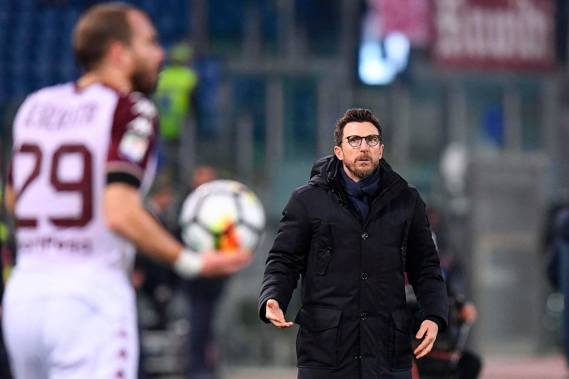 Roma, Di Francesco: «Bravi nella ripresa ma brutto primo tempo. Schick? Lo aspettiamo»