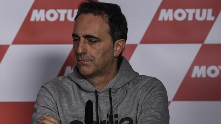 MotoGP, Albesiano: «Ci piacerebbe Petrucci in Aprilia»