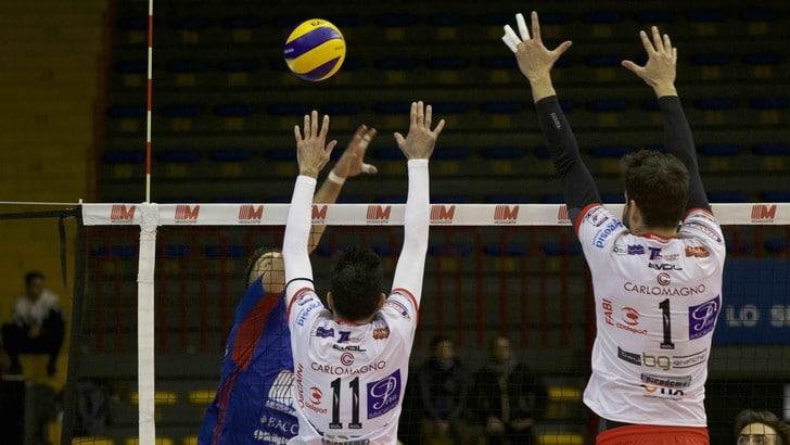 Volley: A2 Maschile, Pool C, Catania corsara dopo quasi tre ore di gioco