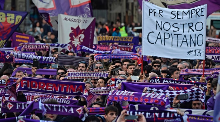 Fiorentina-Benevento, lacrime e brividi nel nome di Astori