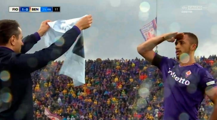Fiorentina-Benevento 1-0: una vittoria e tante le lacrime per Astori