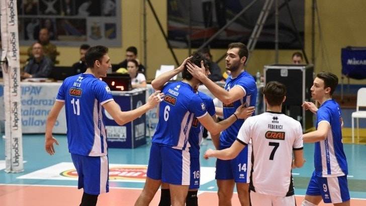 Volley: A2 Maschile, Pool C, Bolzano batte la Materdomini.it, il Club Italia supera Massa