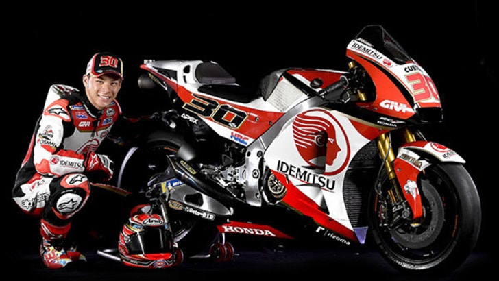 MotoGp Honda, la nuova sfida di Crutchlow e Nakagami