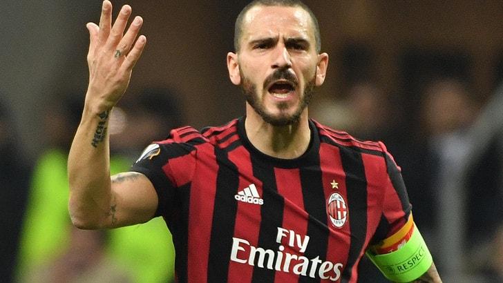Bonucci rischia di saltare Juventus-Milan