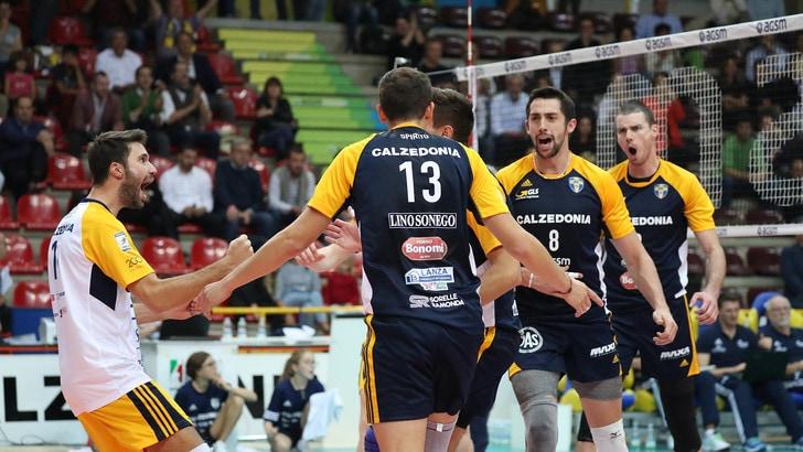 Volley: Cev Cup, la Calzedonia domani affronta lo Ziraat Bankasi in semifinale
