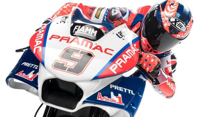 MotoGp Ducati, Petrucci: «Fiero di correre per questi colori»