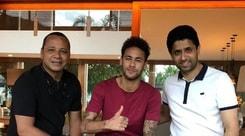 Paris Saint Germain, Al-Khelaifi incontra Neymar a Rio de Janeiro