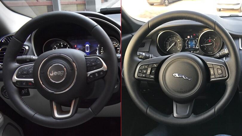 A confronto: Jaguar E-Pace vs Jeep Compass