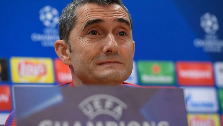 Barcellona, Valverde: «Conte non mi innervosisce»