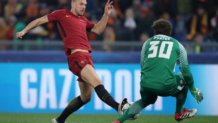 Champions League Roma-Shakhtar Donetsk 1-0, il tabellino