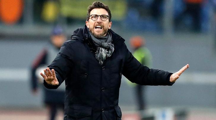 Roma, Di Francesco: «Abbiamo giocato da uomini»