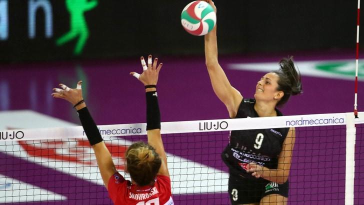 Volley: A1 Femminile, per Caterina Bosetti crak dei legamenti, domani si opera