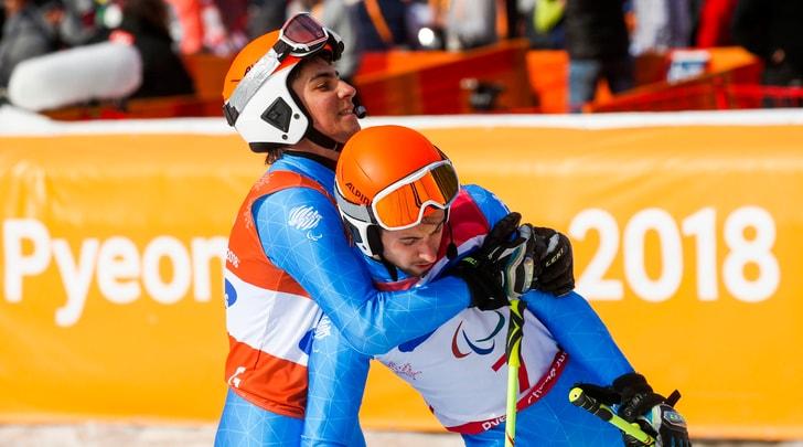 Paralimpiadi 2018, Sci Alpino: oro per Bertagnolli e Casal