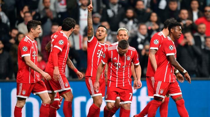 Champions League, Besiktas-Bayern Monaco 1-3: tutto facile per i tedeschi