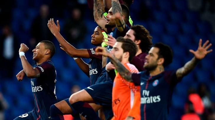Il Psg stende l'Angers: doppietta di Mbappé