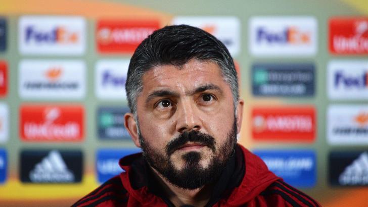 Gattuso: dobbiamo provarci per la maglia