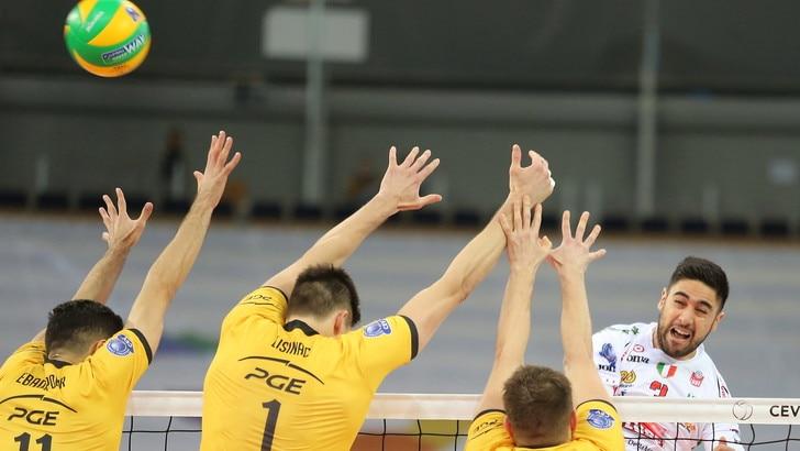 Volley: Champions League, la Lube va sotto 2-0 ma poi vince in rimonta