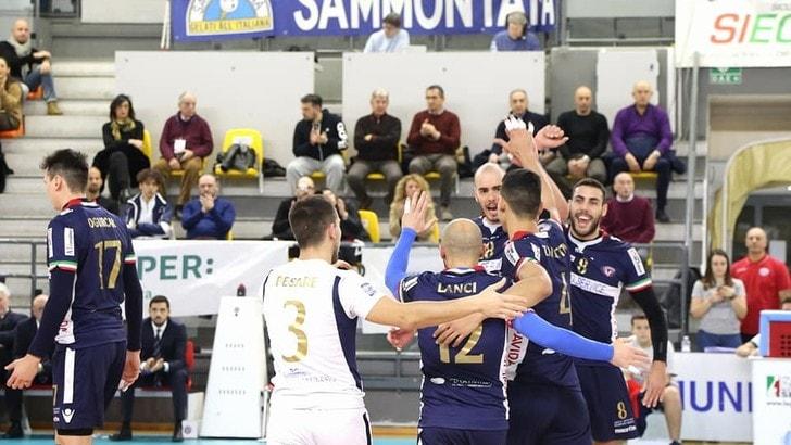 Volley: A2 Maschile, Pool B, Ortona espugna il PalaJacazzi