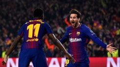 Champions League, in pole position ci sono Barça e City